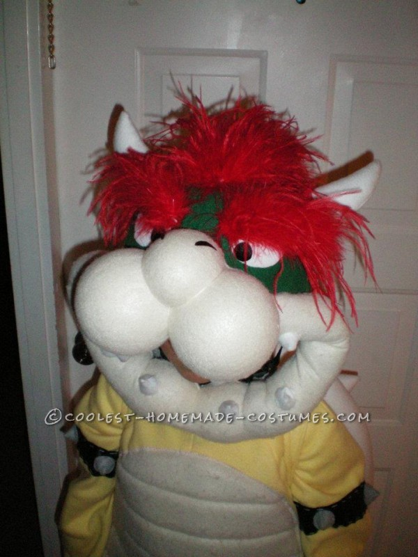 Greatest Homemade Mario Bros Bowser Costume for a 7 Year Old!
