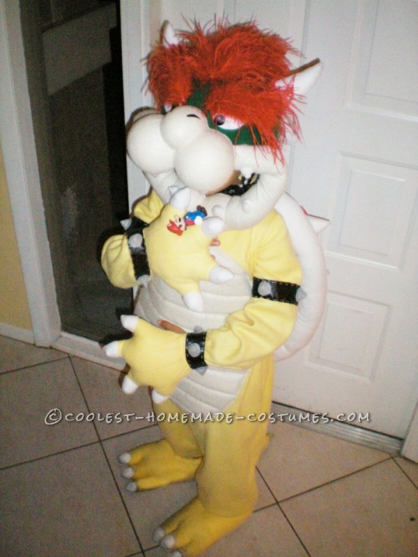 Greatest Homemade Mario Bros Bowser Costume for a 7 Year Old! - 1