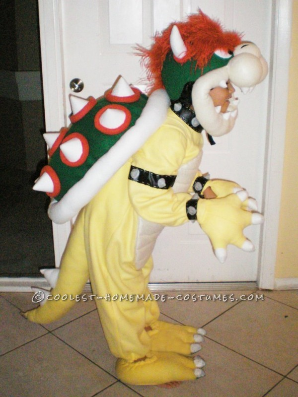 Greatest Homemade Mario Bros Bowser Costume for a 7 Year Old! - 2