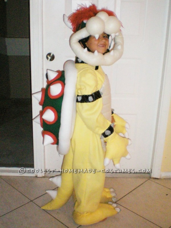 Greatest Homemade Mario Bros Bowser Costume for a 7 Year Old! - 3