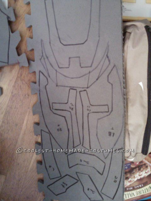 Epic Homemade Halo Reach Spartan Costume - 5