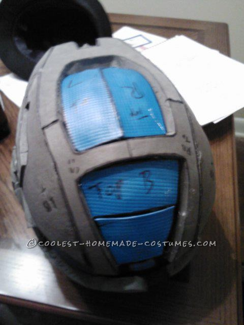 Epic Homemade Halo Reach Spartan Costume - 3