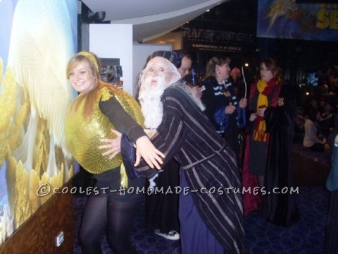 Now this is a SNITCH-UATION!Made for the Harry Potter Premier, definitely created a stir!We were stuck in the city for an hour with tourists and fa