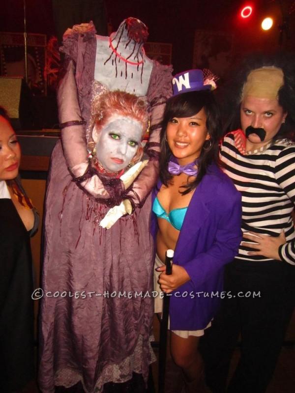 Spooky Headless Marie Antoinette Halloween Costume - 2