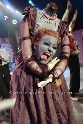 Spooky Headless Marie Antoinette Halloween Costume