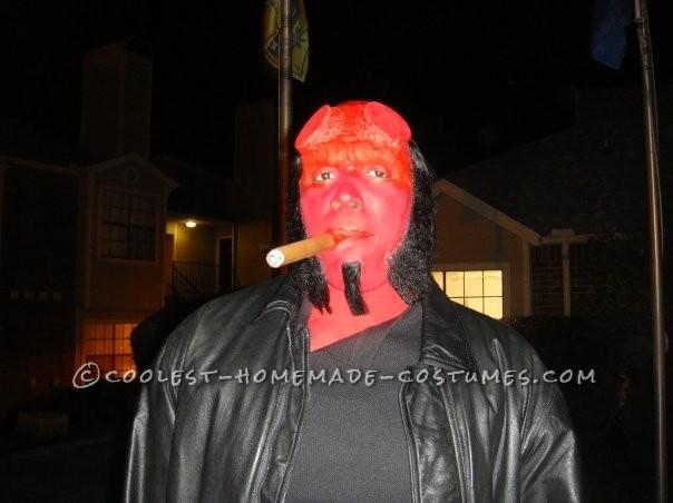 Craig as Hellboy