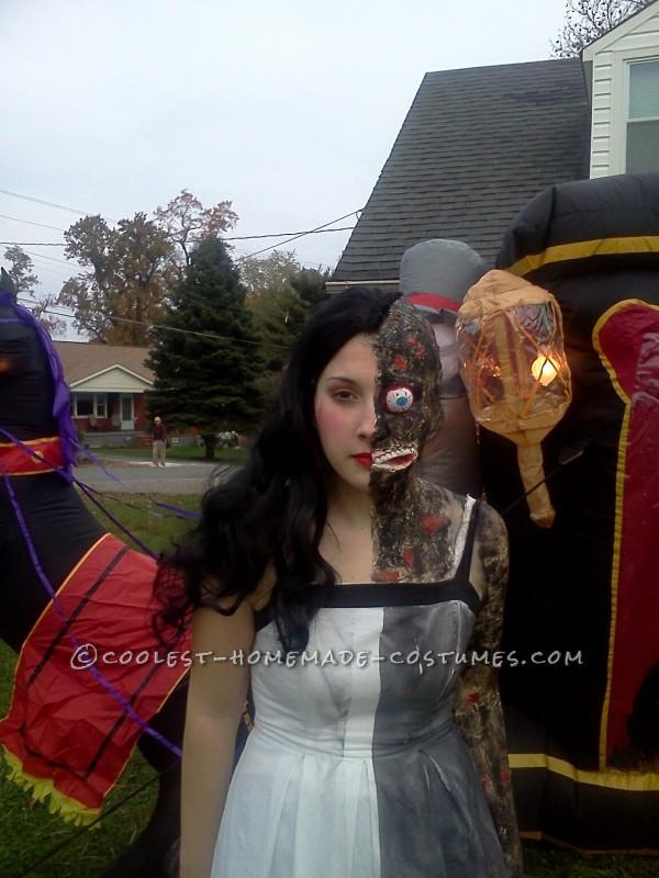 Original Two Face Halloween Costume Idea - Original Halloween Costumes