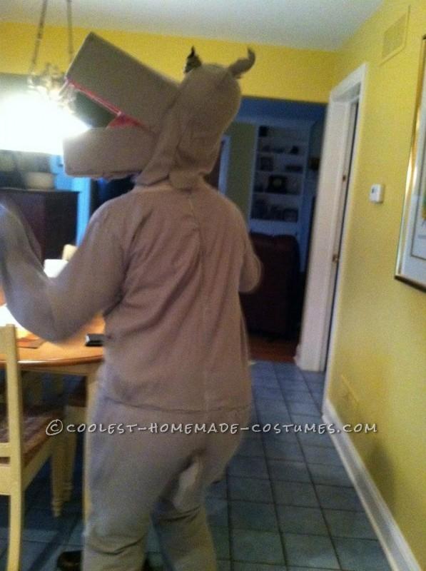 Hippo, backside