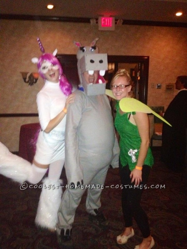 Hippo with me as a unicorn and Tink :)