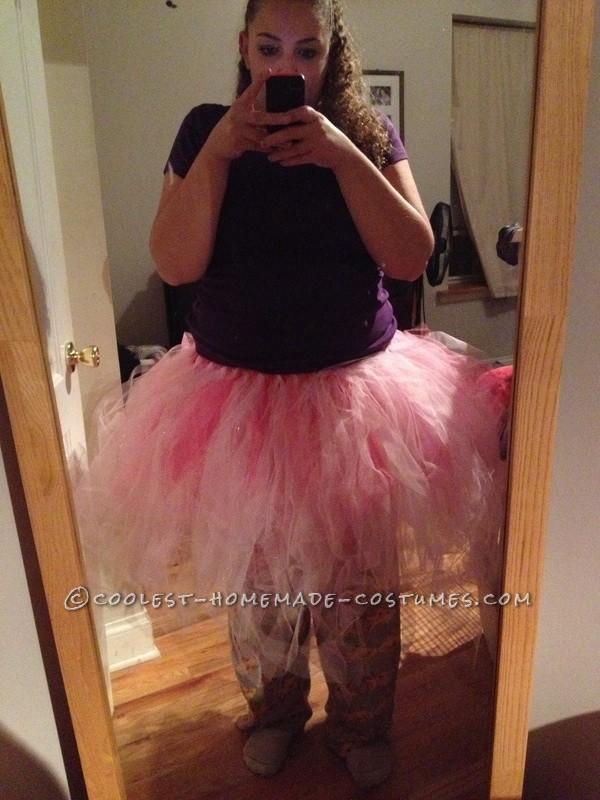 Super Sparkly Homemade Glinda Costume - 1