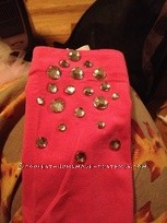 Super Sparkly Homemade Glinda Costume - 2