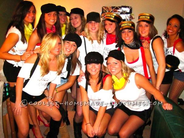 Original Girls Group Halloween Costume Idea: Hot Mess Express