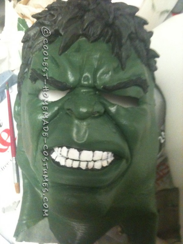 Mask painted.