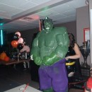 Awesome Homemade Hulk Halloween Costume