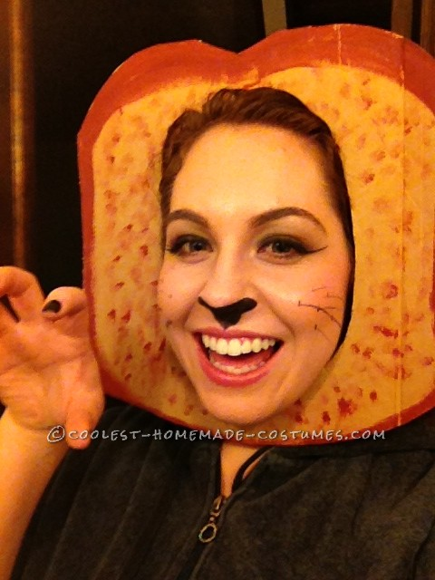 In Bread Cat Costume