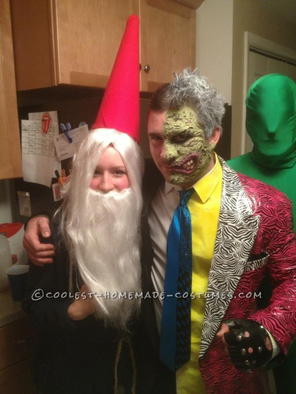 Two Face and a gnome