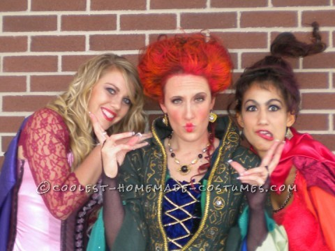 Sistaaaaaas! Three girls, a love of Hocus Pocus and Halloween will mix up to this great combo! This dynamic trio, which was born three ye