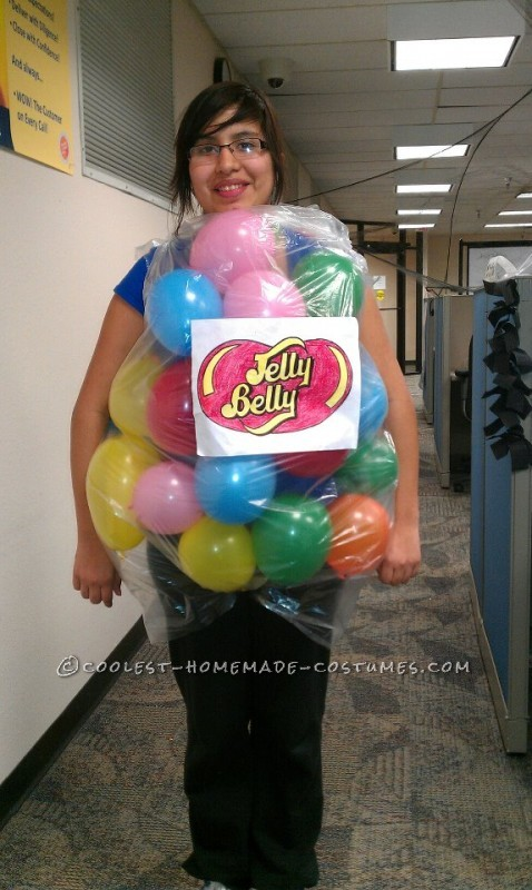 The Very Best Last-Minute Costume Idea: Bag of Jelly Beans!