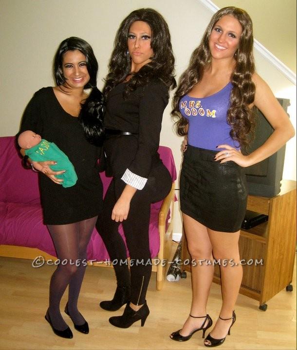 Coolest Kardashian Sisters Group Costume (Including Little Mason!)