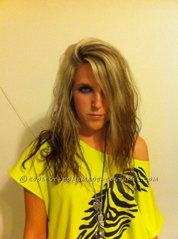 Last-Minute Sexy Homemade Ke$ha Halloween Costume - 1