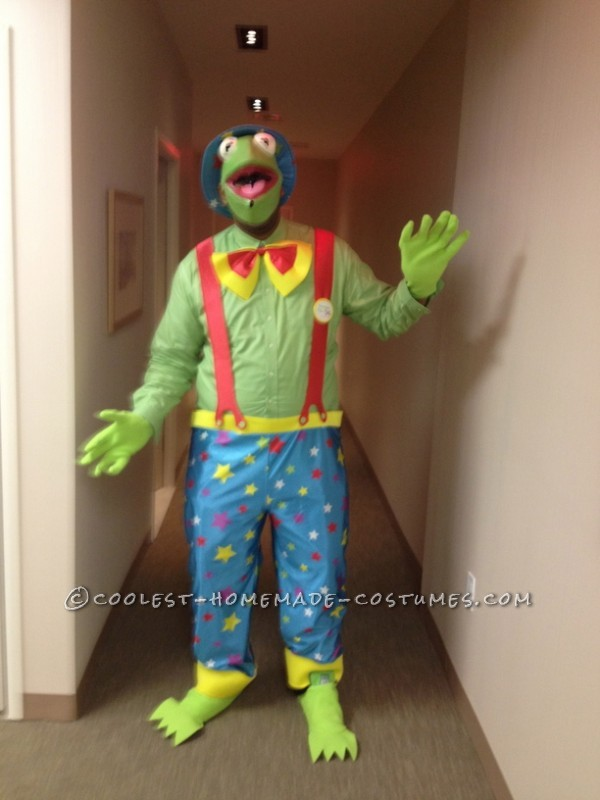 Last year, I wanted to be a clown, and I was going to make my boyfriend Krusty, but he wanted to be Kermit the Frog! I was still in love with being a