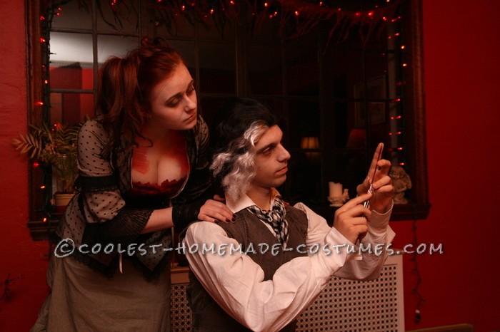 Last-Minute Detailed Mrs. Lovett Homemade Halloween Costume - 5