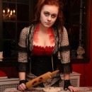 I've always been a huge Halloween buff, and I've especially always loved Sweeney Todd. I wanted to be Mrs. Lovett for Halloween for years now, but