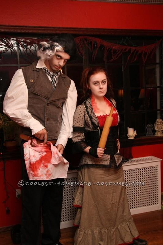 Last-Minute Detailed Mrs. Lovett Homemade Halloween Costume - 4