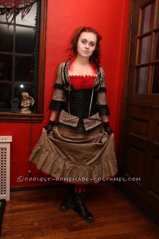 Last-Minute Detailed Mrs. Lovett Homemade Halloween Costume - 3