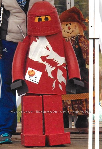 Coolest Homemade LEGO Ninjago Minifigure Costume