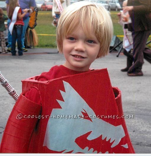 Coolest Homemade LEGO Ninjago Minifigure Costume - 1