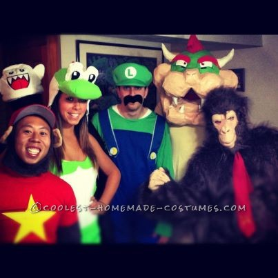 Awesome Live Action Mario Kart Homemade Halloween Costumes