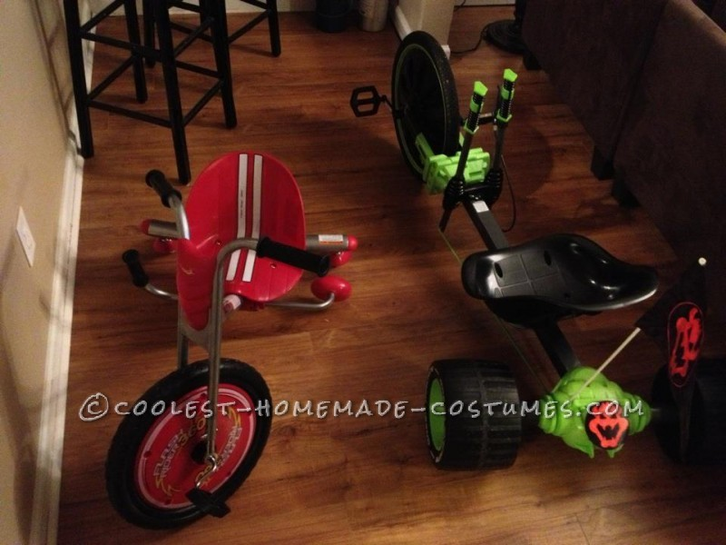 Awesome Live Action Mario Kart Homemade Halloween Costumes - 1