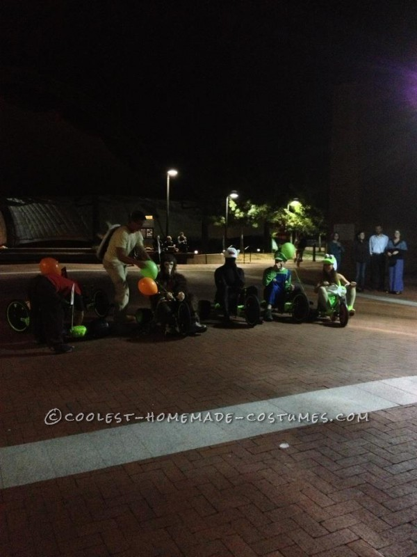 Awesome Live Action Mario Kart Homemade Halloween Costumes - 3
