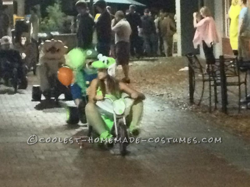 Awesome Live Action Mario Kart Homemade Halloween Costumes - 4