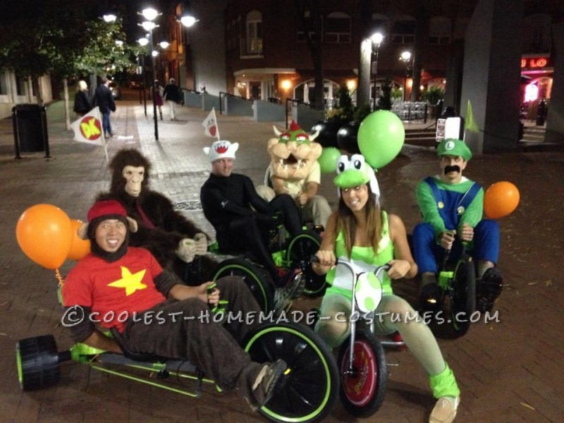 Awesome Live Action Mario Kart Homemade Halloween Costumes - 5
