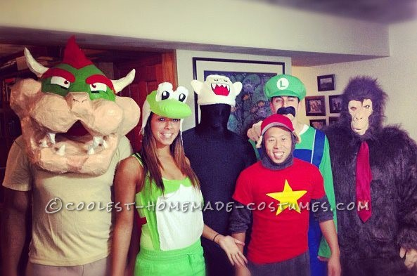 Awesome Live Action Mario Kart Homemade Halloween Costumes - 6