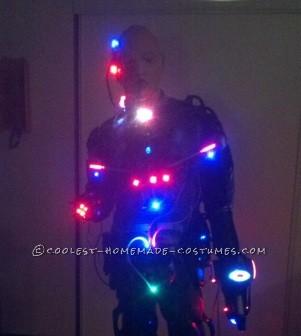 Locutus of Borg (Cyborg) Costume Inspired by Star Trek