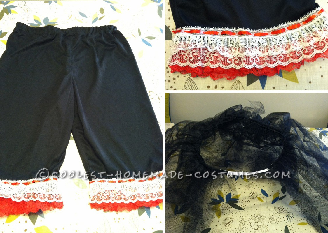 Long Undies, Lace, and POUF Skirt