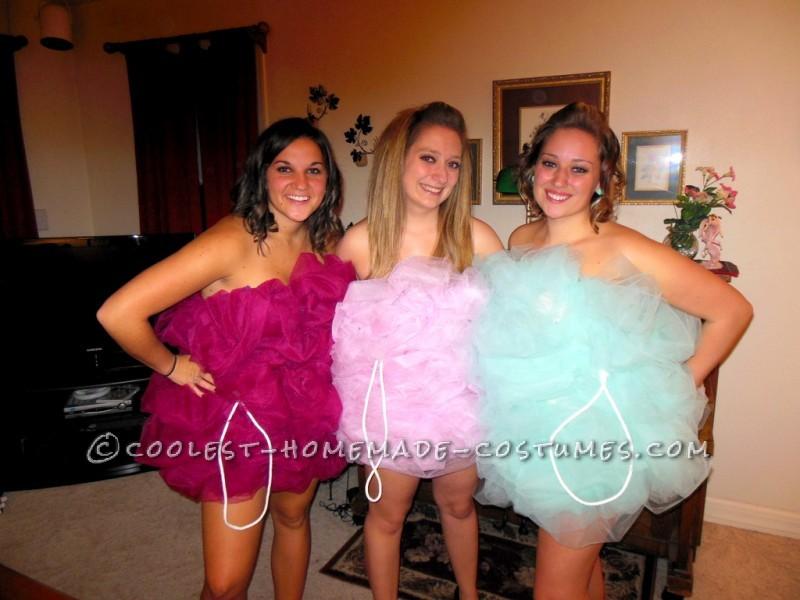 Fun Group Sexy Halloween Costumes: Loofah Girls