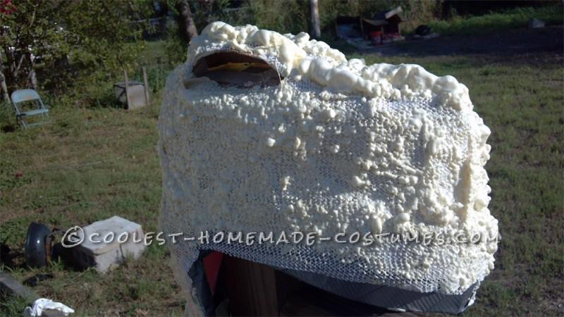 Make the Coolest Homemade Dinosaur Costume - 3