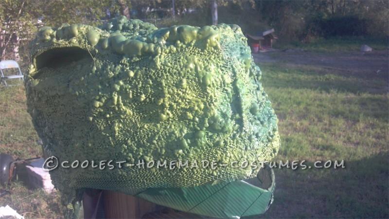 Make the Coolest Homemade Dinosaur Costume - 5