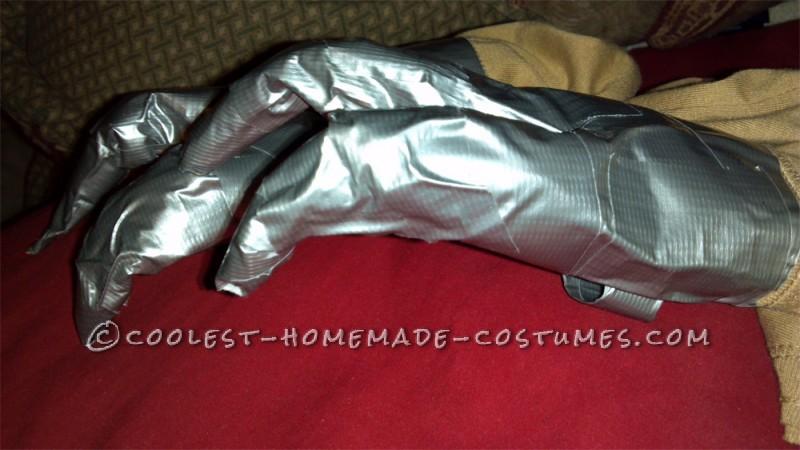 Make the Coolest Homemade Dinosaur Costume - 9