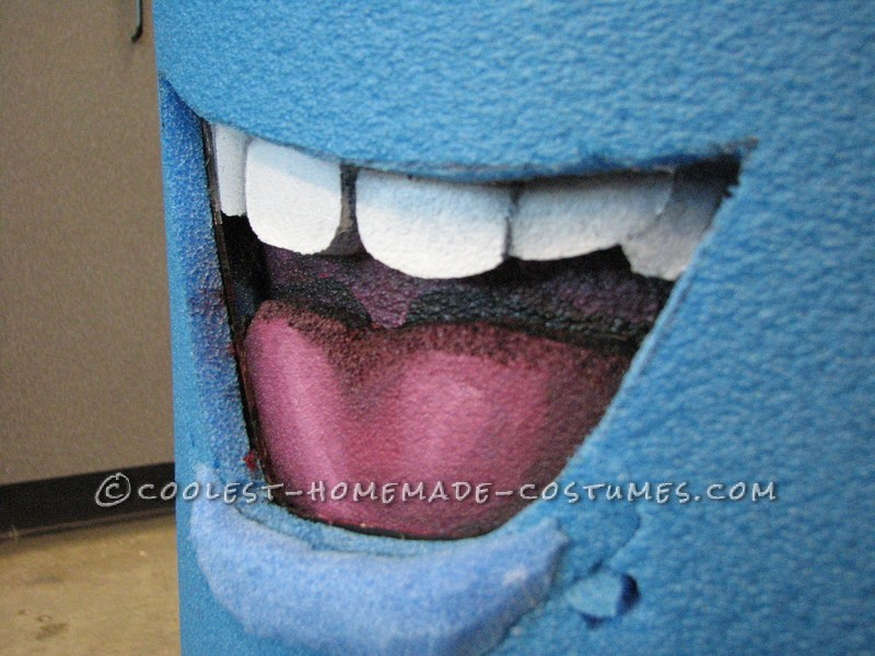 Mouth Layers to create Depth