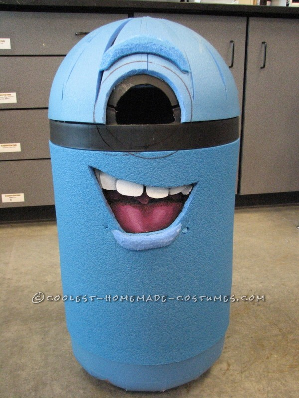 The Covered Trash Can