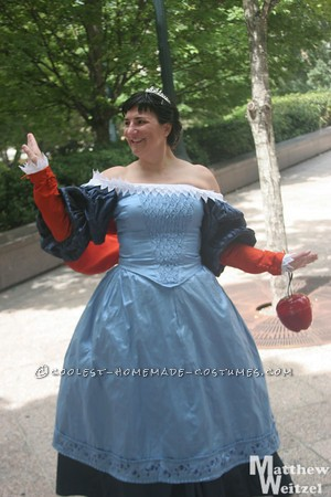 Coolest Homemade Snow White Costume from the Movie Mirror Mirror