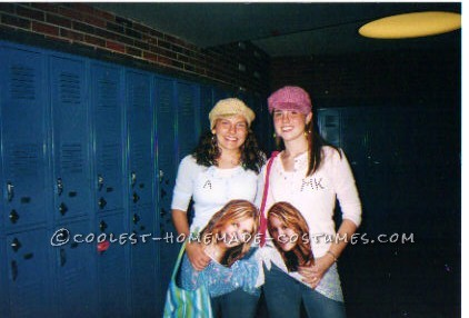 My friend and I decided in high school we wanted to be Mary-Kate and Ashley Olsen, since we had grown up with their movies. We decided to wear