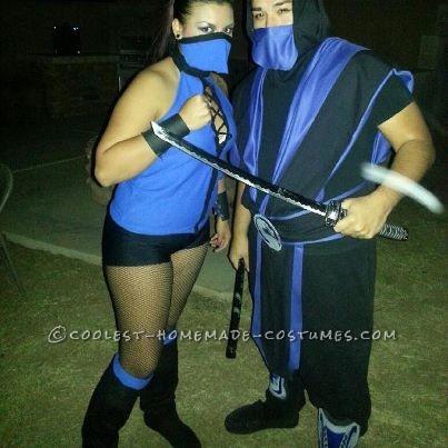 Cheap Sub Zero and Kitana Costumes from Mortal Kombat - 2