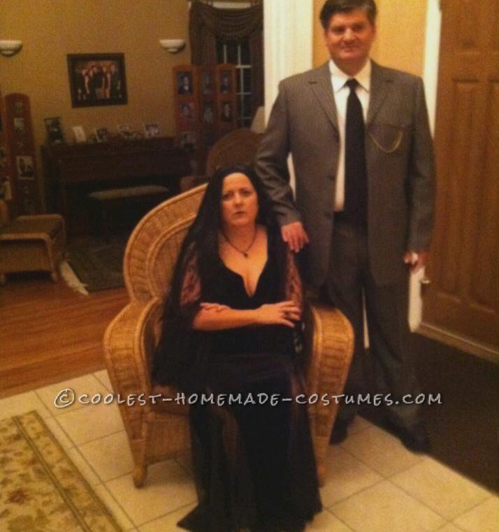 Coolest Morticia and Gomez Addams Couple Costume