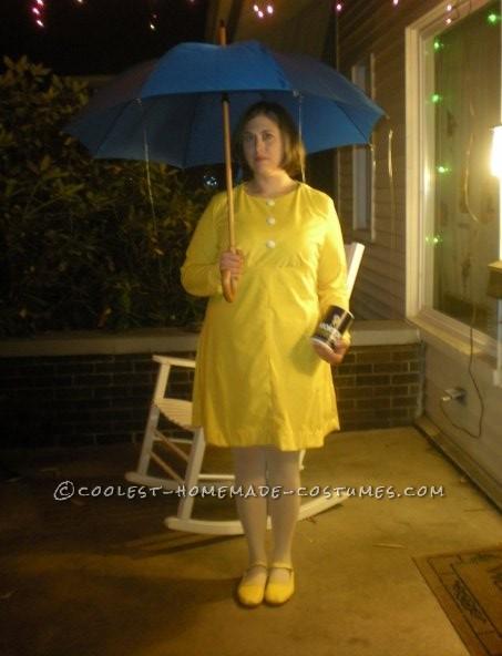 Fantastic Morton's Salt Girl Costume Idea